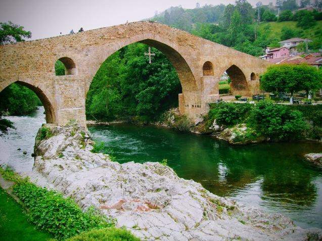 Monumentos, Asturias, sella, cangas, Onís